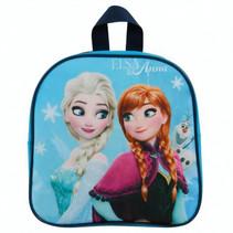 rugzak Frozen II meisjes 24 cm polyester blauw
