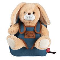 Backpack Denim Bob Bunny 2,7 liter blauw/bruin