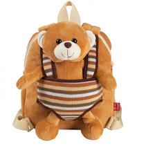 Reversible Backpack Benji Bear 1,6 liter bruin