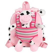 Reversible Backpack Connie Cow 1,6 liter roze
