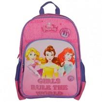 rugzak prinsessen 27 x 12 x 38 cm roze