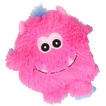knuffel Monster junior pluche 21 cm roze