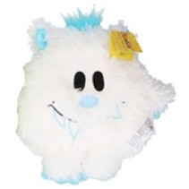 knuffel Monster junior pluche 21 cm wit