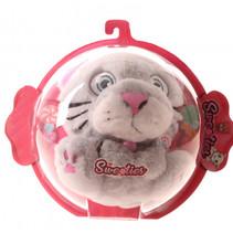 knuffel Sweeties junior 18 cm pluche grijs