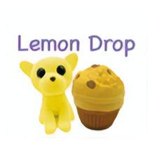 knuffel Sweet Pups - Lemon Drop 25 cm pluche geel