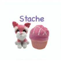 Sweet Pups Muffin Surprise Stache junior 25 cm
