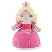 knuffelpop prinses Diamantina 24 cm roze