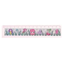 liniaal zeemeermin meisjes 15 cm roze