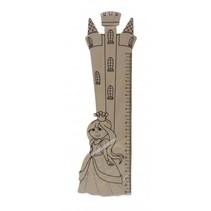 houten liniaal prinses 20 cm