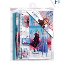 schrijfset Frozen 2 meisjes 18 x 15 cm 6-delig