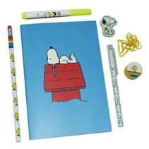 schrijfset Snoopy 7-delig