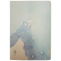 notitieboek Eenhoorn junior 21 x 17,5 cm papier blauw