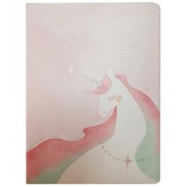 notitieboek Eenhoorn junior 21 x 17,5 cm papier roze