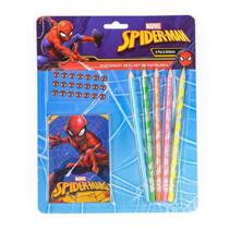 potloodset Spider-Man 21 x 30 cm hout/papier 3-delig