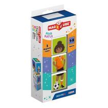 speelset MagiCube Sports 4,5 x 20 x 9 cm 3-delig