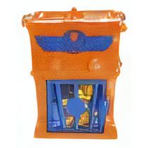 superzings Kaboom Trap jongens oranje 3-delig