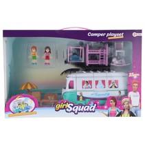Girl Squad camper speelset 15-delig 43 cm