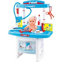 Dokter speelset met babypop en accessoires 28-delig 45cm