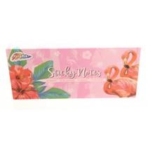 sticky notes Flamingo 30 cm roze