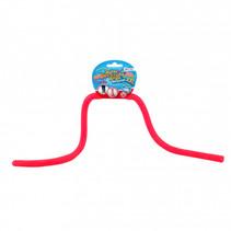 rekbaar touw met glitters junior roze 5 meter