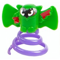 springdier Vleermuis groen/paars 3 cm