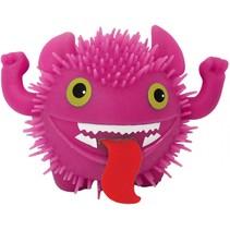 fluffy monster 11 cm roze