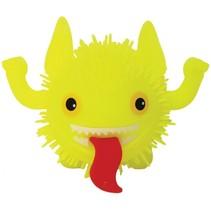 fluffy monster 11 cm geel