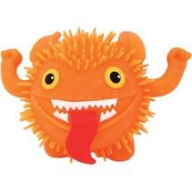 fluffy monster 11 cm oranje