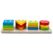 leerspel vormen geometrisch 30 cm