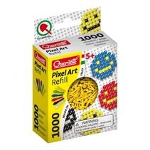 Pixel Art aanvuldoos geel diameter 4 mm 1000-delig
