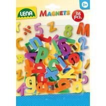 magneet kleine letters junior 36-delig