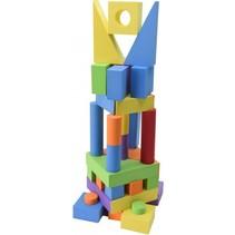 bouwblokken EVA 40-delig