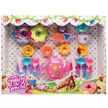 Sprookjesset Pastry Party 37 x 29 cm multicolor 20-delig
