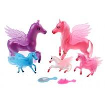 magic pegasus paarden 7-delig 15 cm
