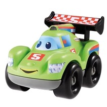 abrick bouwpakket raceauto groen 7-delig
