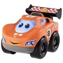 abrick bouwpakket raceauto oranje 7-delig