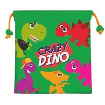 schooltas Crazy Dino polyester 22 cm
