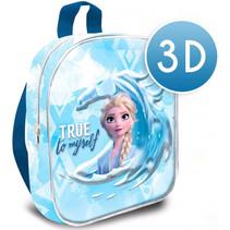 schooltas True to Myself 3D meisjes 30 cm polyester