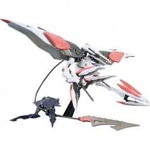 Gundam IBO bouwpakket Armor Hashmal 15 cm grijs/rood