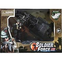 jetski Soldier Force jongens legergroen 2-delig