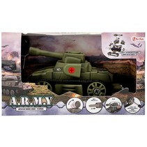 militaire tank groen 18 cm