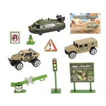 speelset Army Special Force jongens groen 8-delig