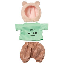 outfit Baby Stella Stay Wild 38 cm textiel 3-delig