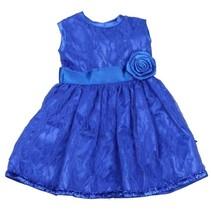 babypoppenjurk 46 cm donkerblauw
