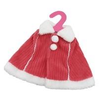 babypoppencape 46 cm rood