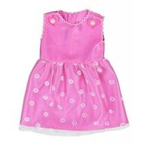 babypoppenjurk 46 cm roze