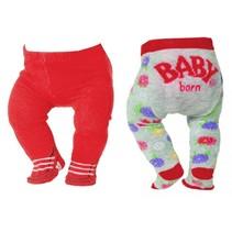 maillots Trend 43 cm dubbelverpakking rood/grijs