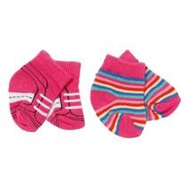 sokken Trend 43 cm dubbelverpakking roze