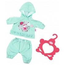 kledingset Baby Suits groen 3-delig 43 cm