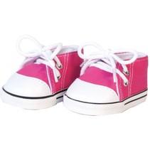 sneakers voor poppen rood